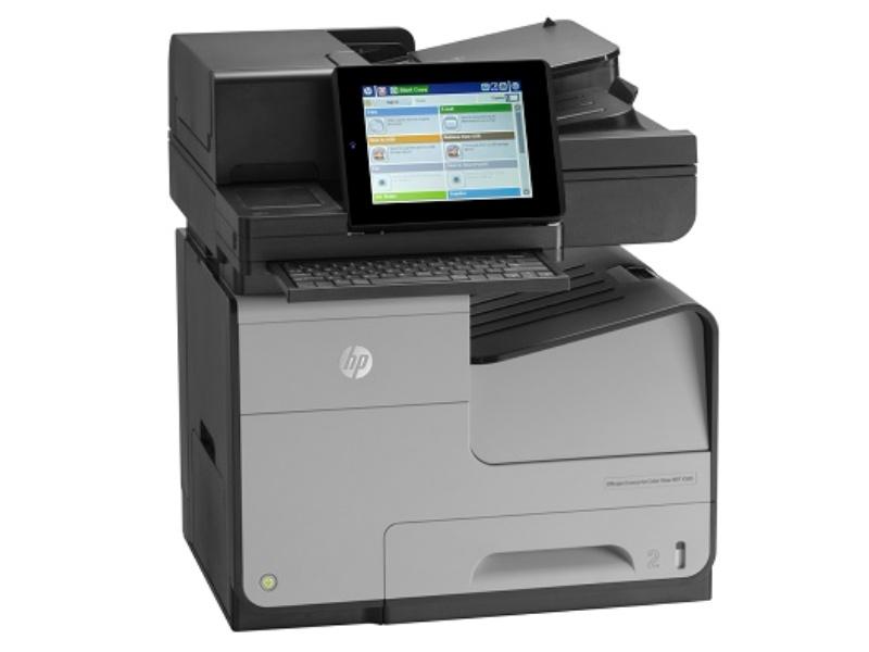 Эффективный офисный документооборот с новым МФУ HP Officejet Enterprise Color MFP X585