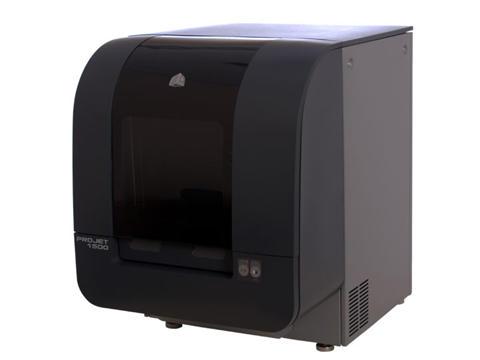 3d принтеры ProJet 1000 и ProJet 1500