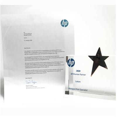 Бюро Офисных Машин получило статус HP MPS Premier  Partner 2020