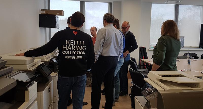 Выездной семинар в головном офисе компании Sharp