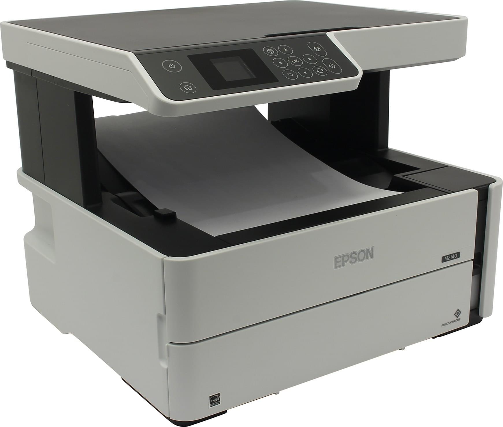 Epson M3170 — монохромный офисный МФУ с системой непрерывной подачи чернил