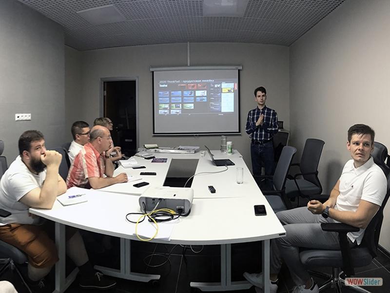 Тренинг с компанией Lenovo