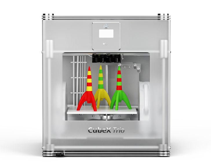 3d принтер 3D Systems CubeX, Duo, Trio
